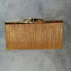 Clutch Purse Evening Bag Gold